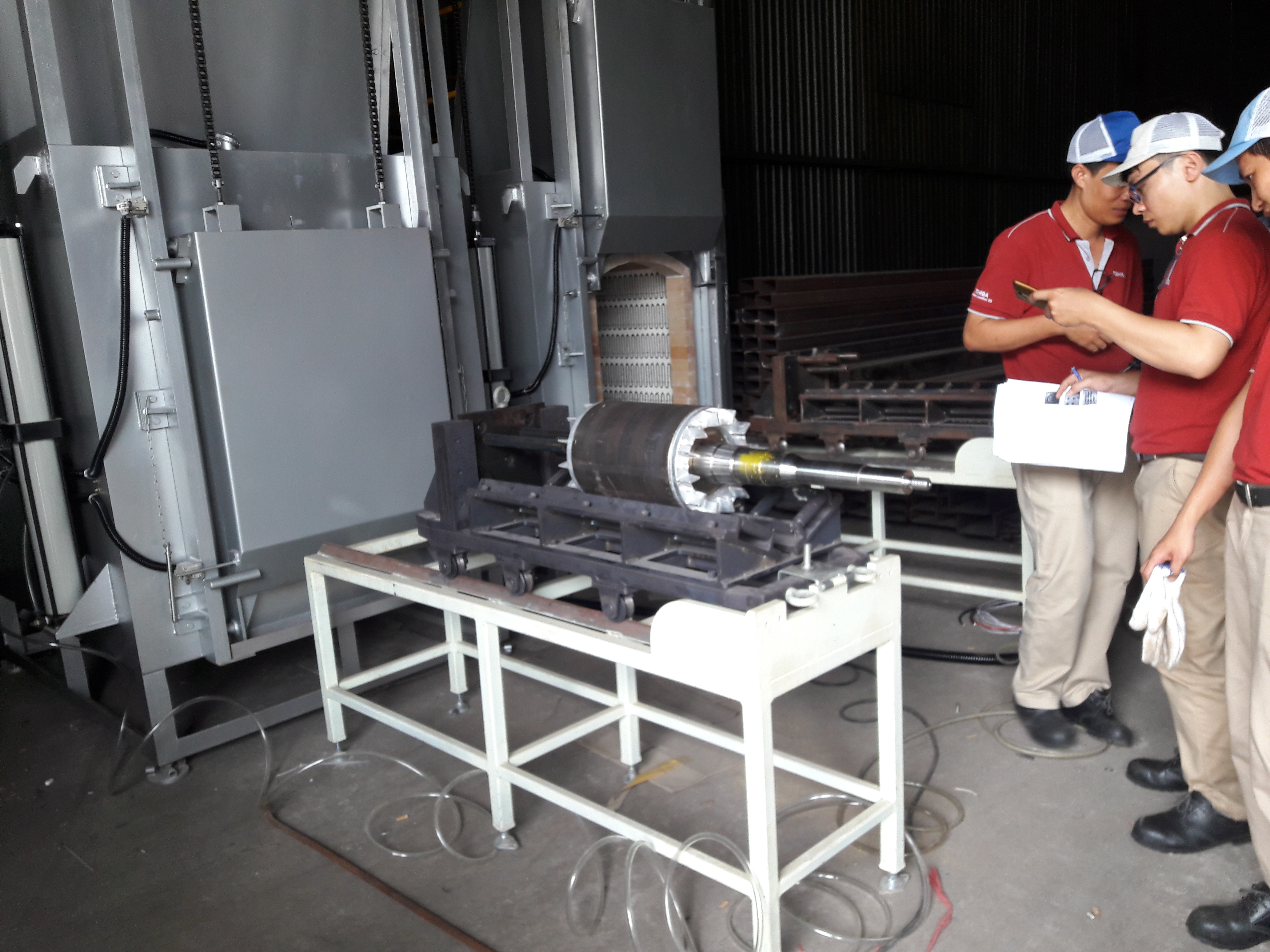 Lò nung gia nhiệt rotor - Cty Toshiba Asia KCN Amata Biên Hòa