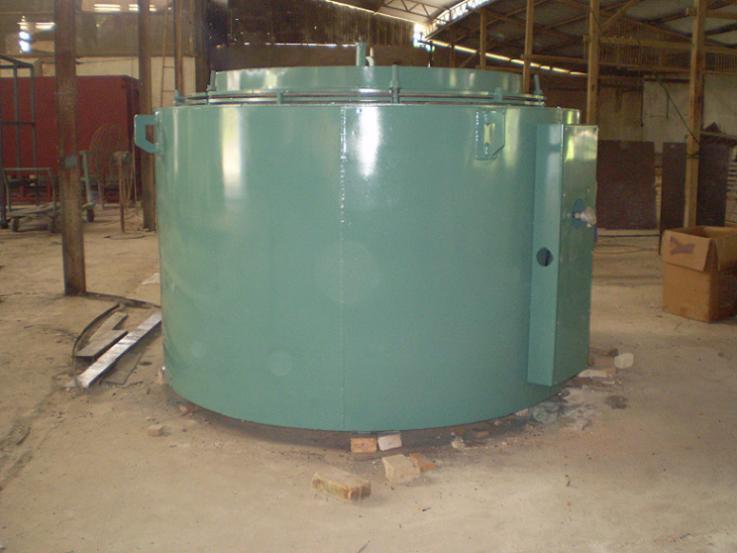 Lò giếng điện trở ủ thép dây zic zắc - Cơ sở Hiệp Thành Tỉnh lộ 10
