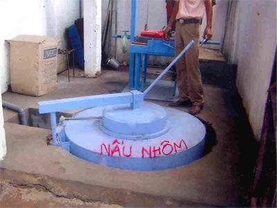 Lò nấu nhôm - Cty khuôn mẫu Đất Việt