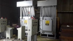 Lò gia nhiệt Rotor - CTy Toshiba Asia KCN Amata Biên Hòa