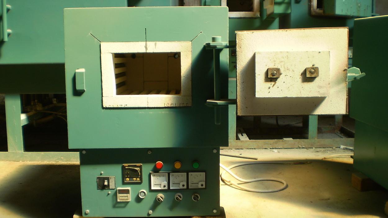 Lò buồng điện trở mini 3 pha - Cty U&I Bình Dương