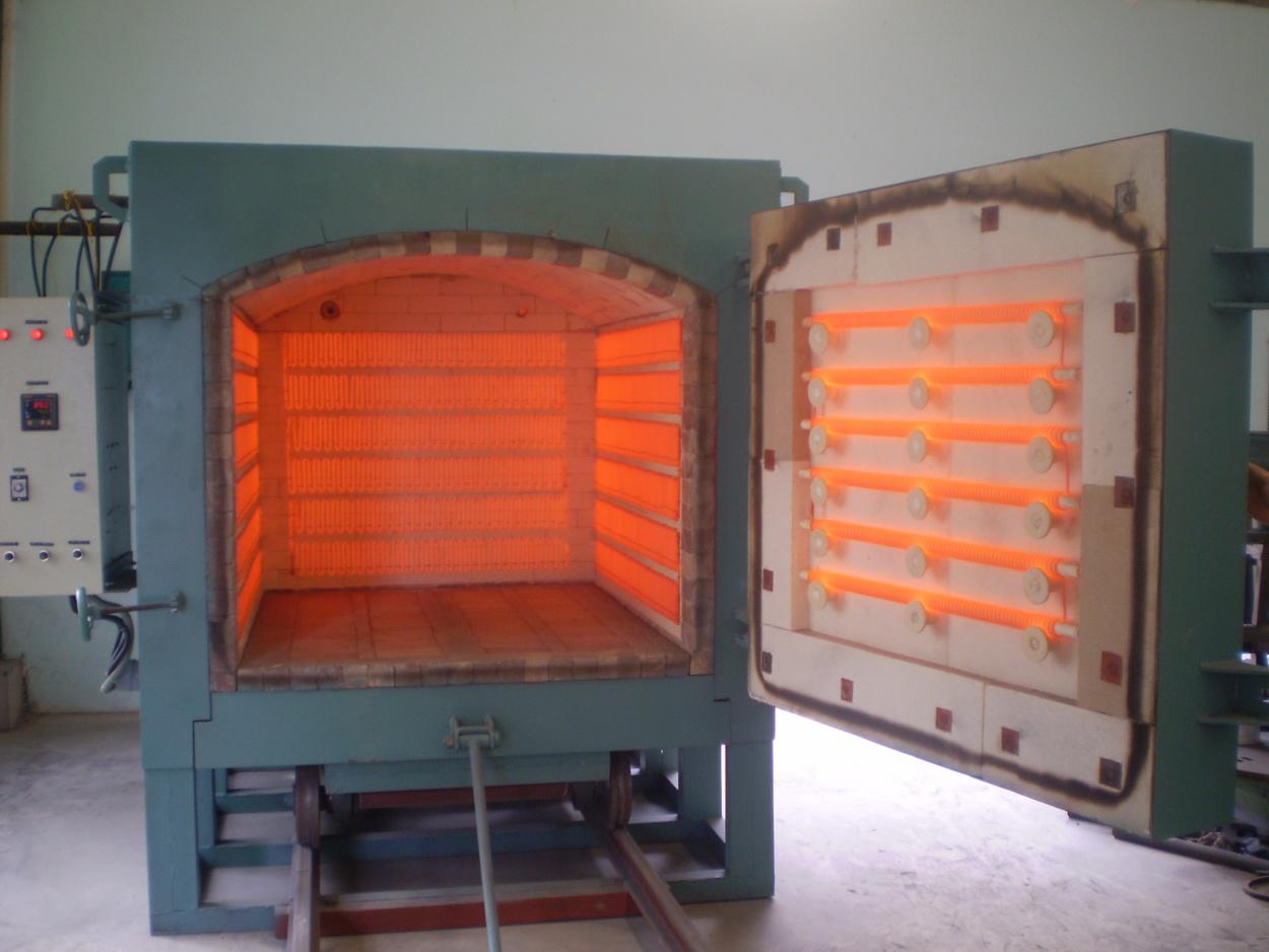 Lò ủ thép đáy di động - Cơ khí Hiệp Tiến